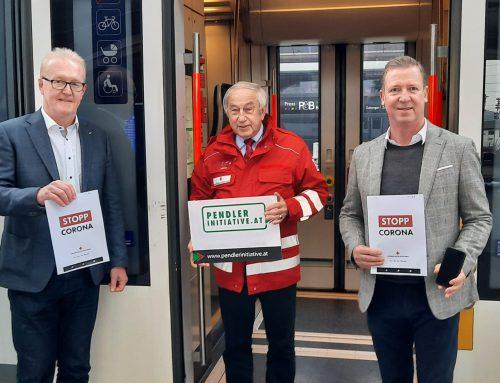 Aufruf der Pendler-Initiative:  Mit Rotes Kreuz Stopp-Corona App jetzt mehr Sicherheit im Kampf gegen das Corona –Virus